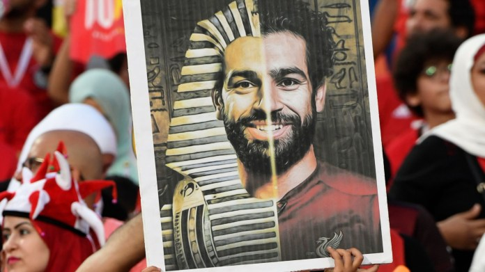 Mohamed Salah appears in front of a real pharaoh (photo)