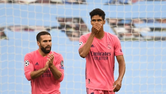 Varane apologizes for defeating Real Madrid against City for committing two serious mistakes (video)