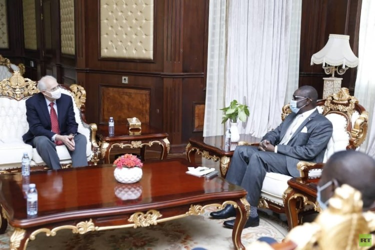 مباحثات سودانية - أمريكية في الخرطوم