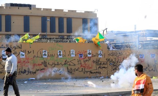 موقع أمريكي: واشنطن تدرس إغلاق سفارتها في بغداد