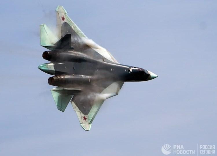 القوات الجوية الروسية تتسلم مقاتلة الجيل الخامس