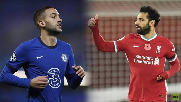 Arab duo Salah and Ziyash face to face at the stadium