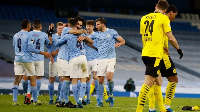 Manchester City wins a deadly time victory over Borussia Dortmund in the Champions League (video)