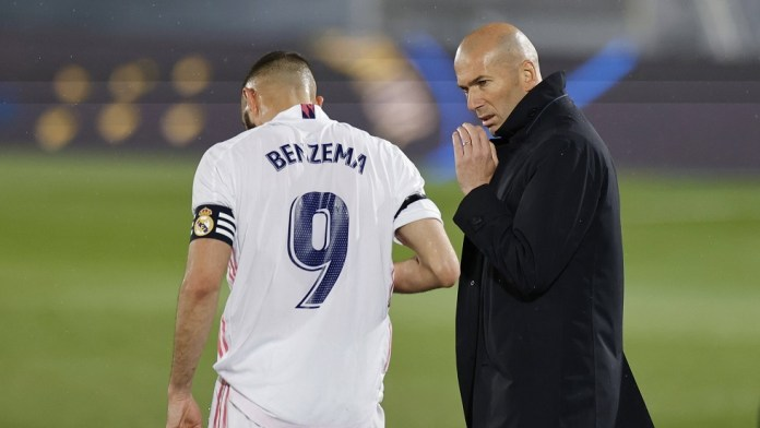 Zidane reveals the list of Real Madrid for the Liverpool campaign