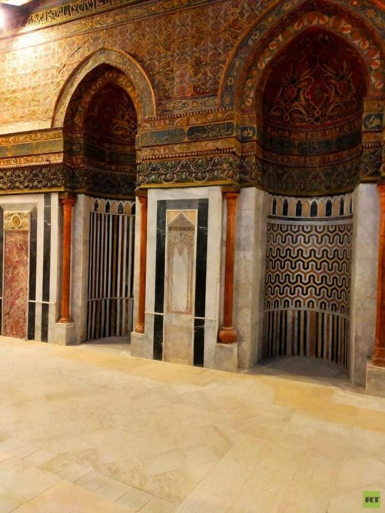 افتتاح قبة ضريح الإمام الشافعي في القاهرة (بالصور والفيديو)