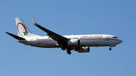 طائرة تابعة للخطوط الجوية المغربية