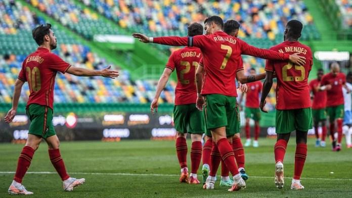 Portugal sweeps Israel (video)