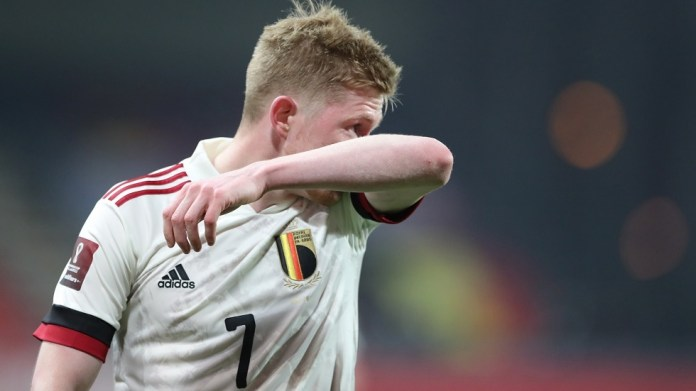 European Cup .. De Bruyne threatened to miss the match between Belgium and Russia