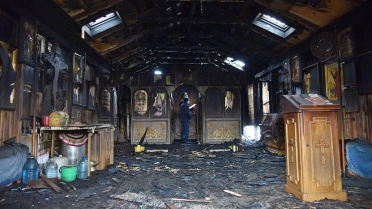 Image result for Епархия считает пожар во львовском храме УПЦ поджогом