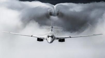 Strategic bomber Tu-160M