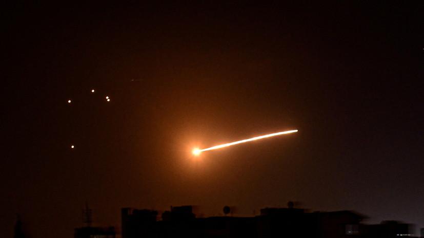 SANA: A szíriai légvédelem elhárítja a légitámadást