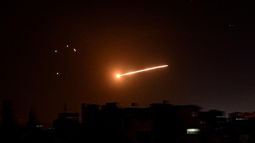 SANA: A szíriai légvédelem visszaveri a légitámadást