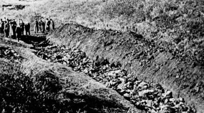 Тела погибших в Бабьем Яру