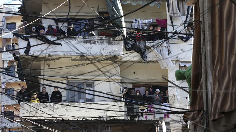 Электросеть Ливана вернулась к нормальной работе после отключения