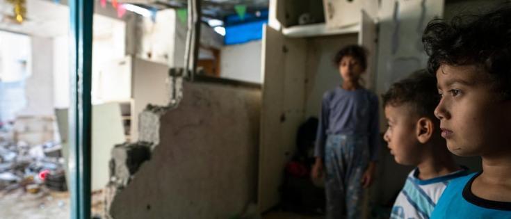 91 percent of children in Gaza suffer from PTSD