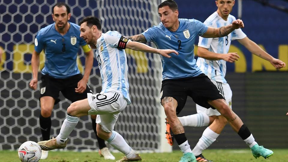 Argentina beat Uruguay 1-0 in Copa America classico