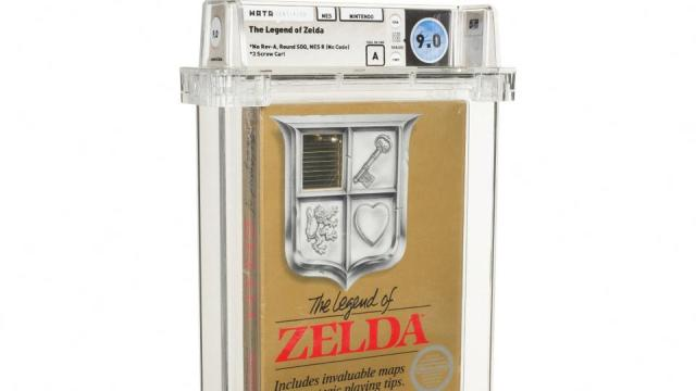 The cartridge, dated to 1987, is still in its original packaging.