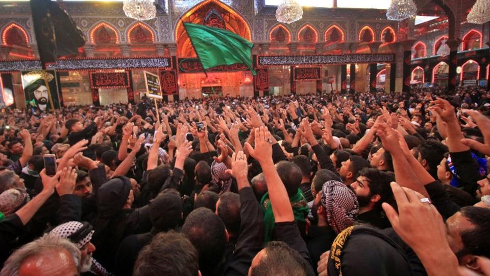 millions of shias gather