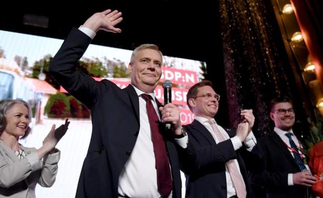 Finnish Social Democrat Leader Rinne Declares Victory In