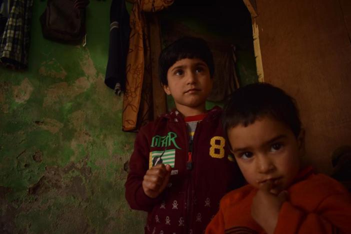 Bilal Ahmed Dar's two daughters.
