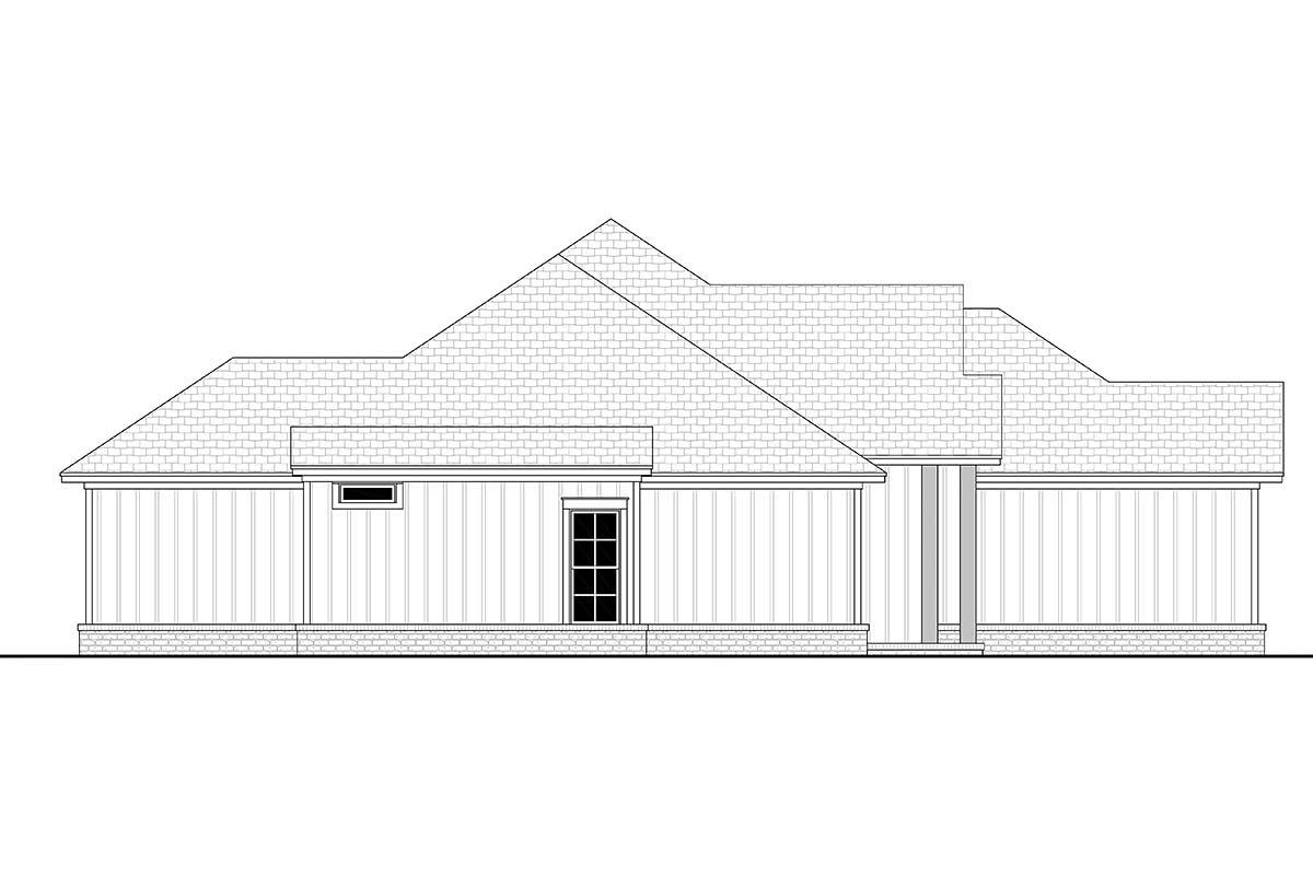 Farmhouse Style House Plan 56704 with 1850 Sq Ft, 4 Bed, 2