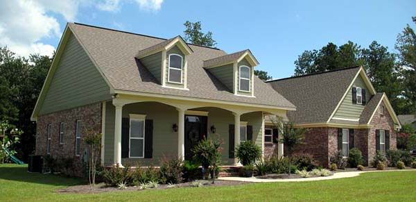 Plan 59104  Traditional Style House Plan with 3 Bed 2 Bath
