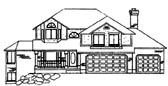 Traditional Style House Plan 79729 with 3 Bed, 3 Bath