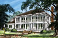 Colonial Cottage Country Farmhouse Southern Traditional ...