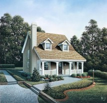 Cottage Style House Plan 86973 With 3 Bed Bath 1299 Sq Ft
