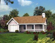 Country Cottage House Plans Ranch