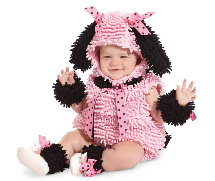 2t Toddler Poodle Pink Costume