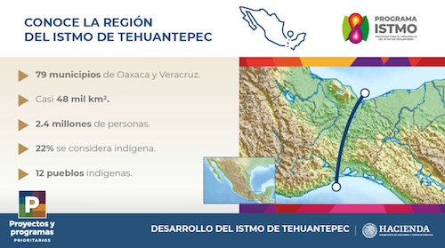 Who will benefit most from the Tehuantepec isthmus corridor? - BNamericas