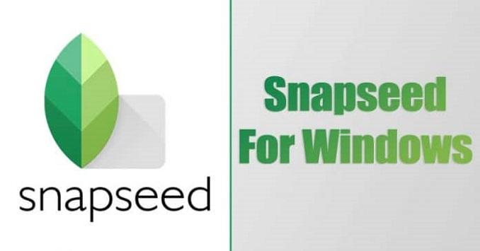 Cara Instal Snapseed Di PC Windows