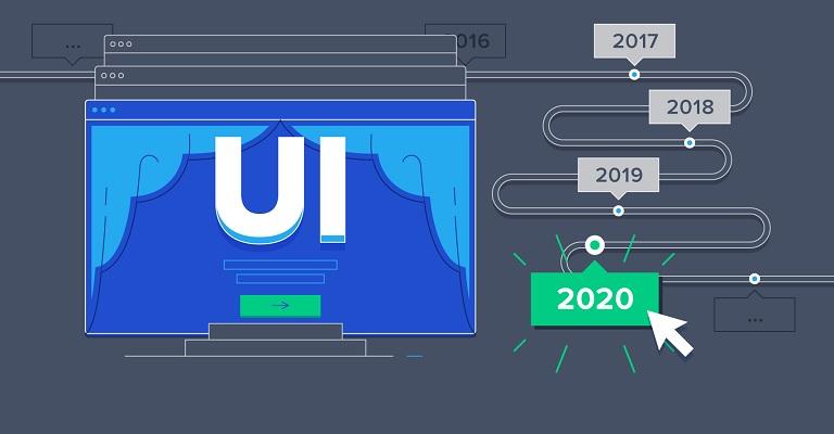 Tren User Interface Tahun 2020