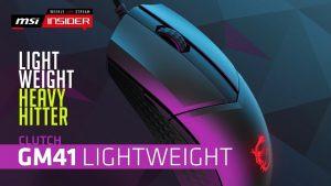 MSI GM41 Lightweight