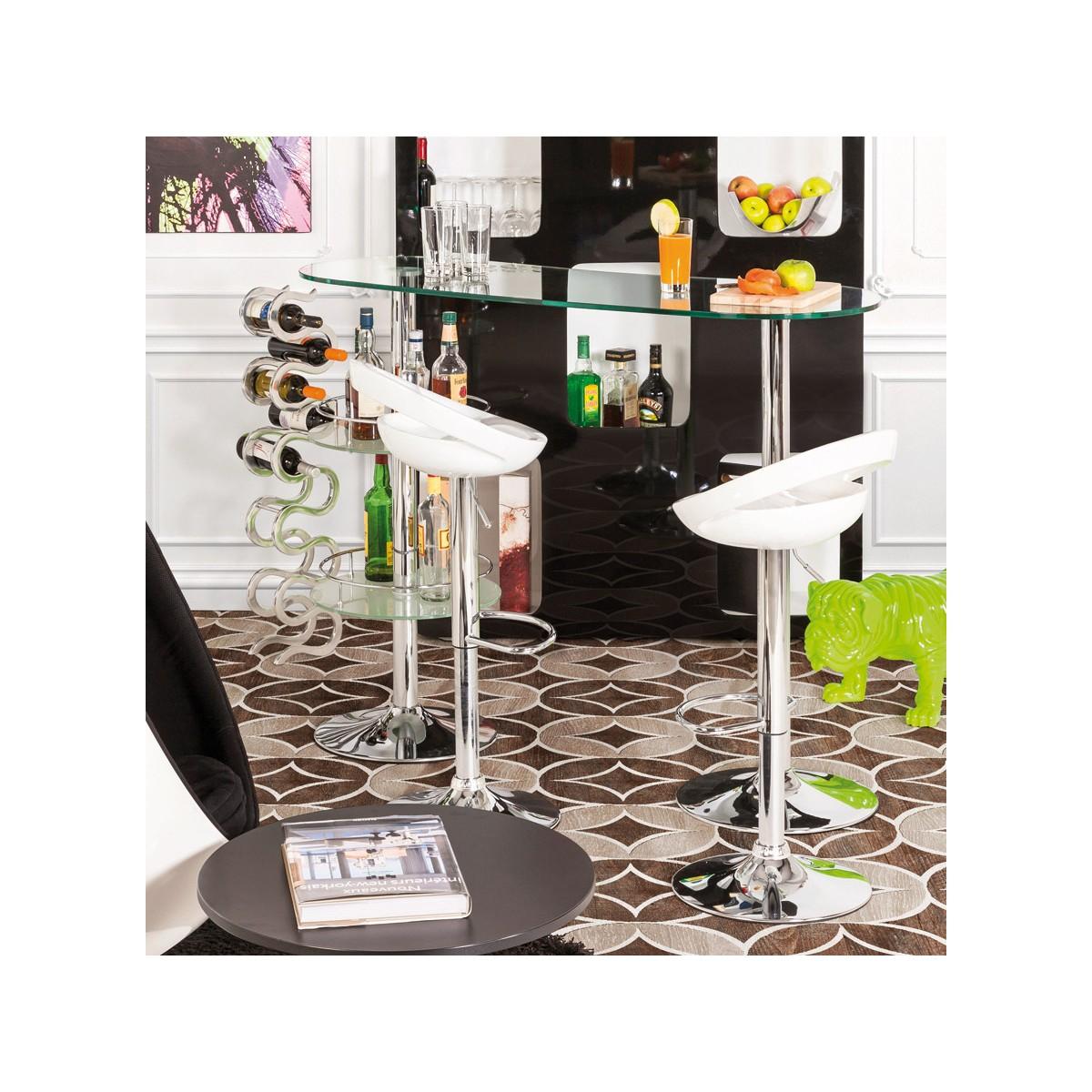 mobel design bar bora bora glas und