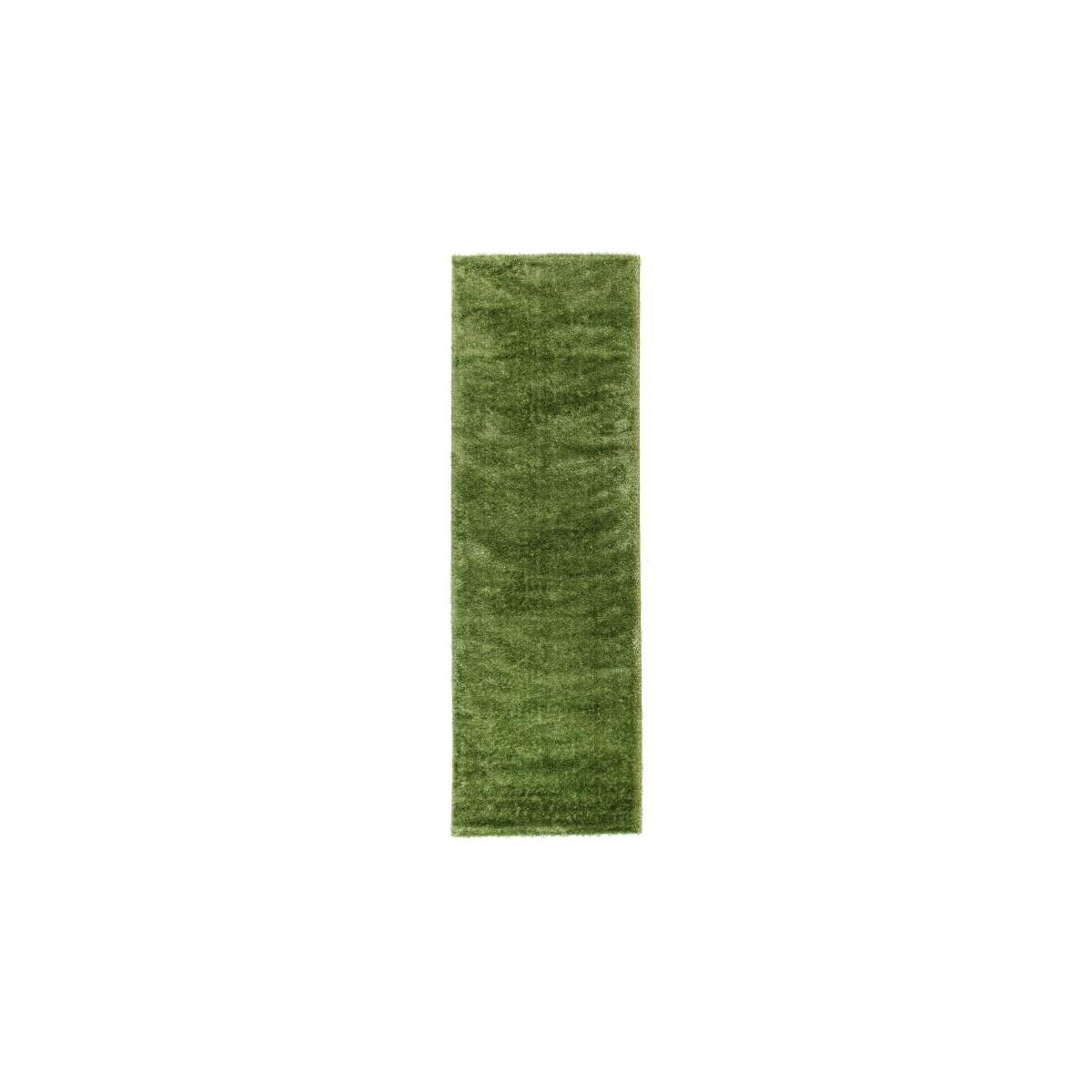 korridor soft shaggy matte und glanzende 80 x 300 cm zottigen moonlight grun amp story 5304