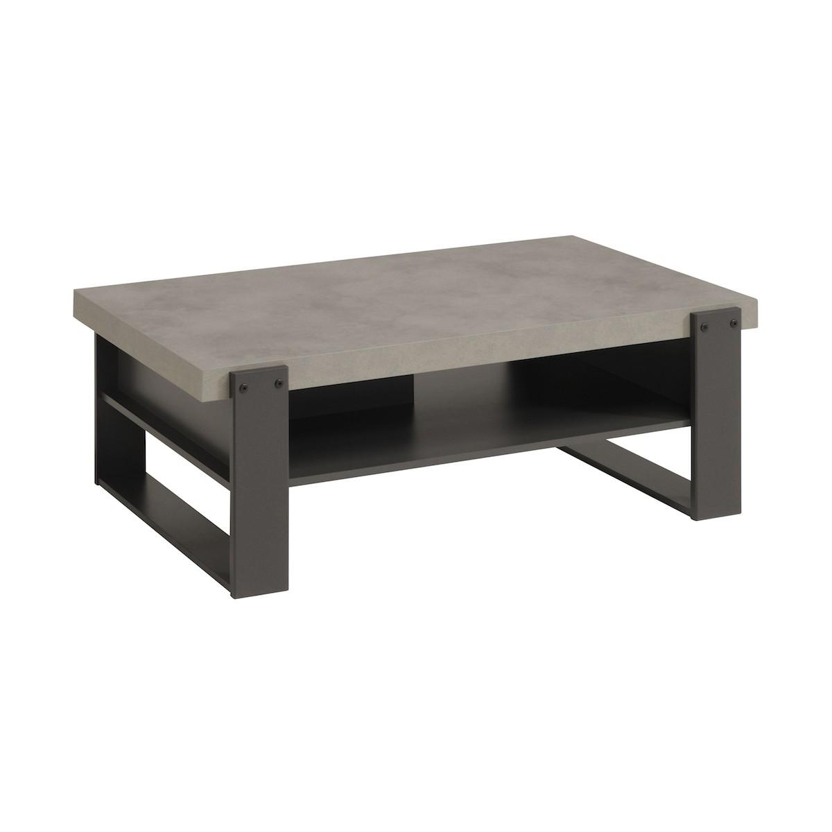 geringe industrielle eleanor holztisch klar graue schatten beton amp story 5843