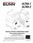 Bunn 34000.0027 Ultra-2 Black Double 3 Gallon Liquid