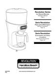 Hamilton Beach HBS1400 Revolution 3 hp 64 oz. Bar Ice