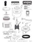 Waring 6001C Heavy-Duty Juice Extractor