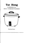 60 Cup (30 Cup Raw) Non-Stick Commercial Rice Cooker and