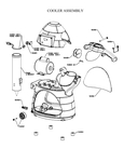 Paragon 6133410 Cooler Snow Cone Machine