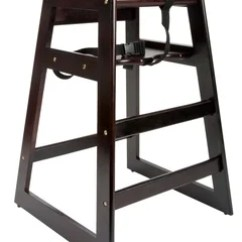 Restaurant Style High Chair Hanging Ikea Egg Lancaster Table Seating Stacking Wood With Keep Your Smaller Guests Safe And Comfortable The