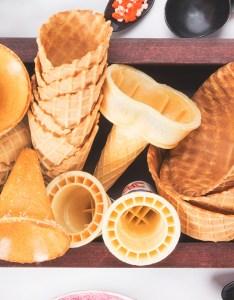Types of ice cream cones also different choosing the best cone rh webstaurantstore