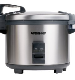 proctor silex 37560r 60 cup 30 cup raw electric rice cooker  [ 1000 x 1000 Pixel ]