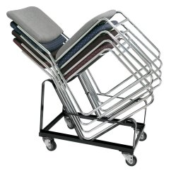 Folding Chair Dolly 50 Capacity Wheelchair Van Service Carts National Public Seating Dy 86 Stack