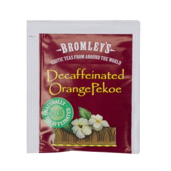 Bromley Exotic Orange Pekoe Decaffeinated Tea - 24 Box
