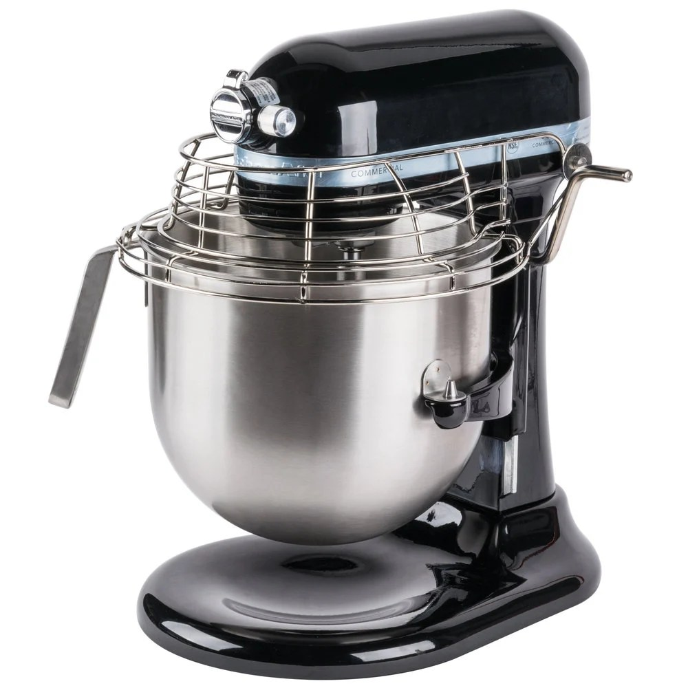 commercial kitchen aid mixer remodel los angeles black kitchenaid 8 qt. & bowl guard ...