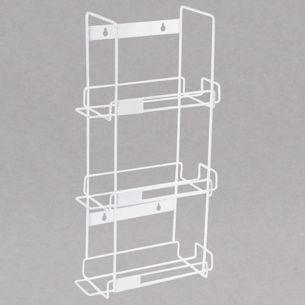 Noble Products 3 Box Wire Wall Mount Glove Rack